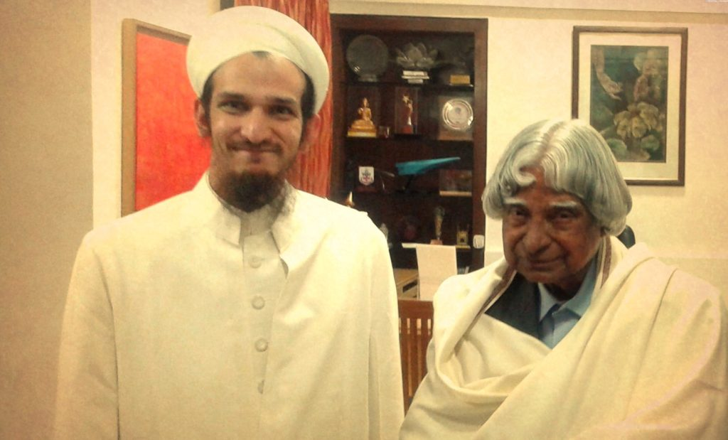 Dr Aziz Qutbuddin discusses the vision of QJSP with Dr Abdul Kalam